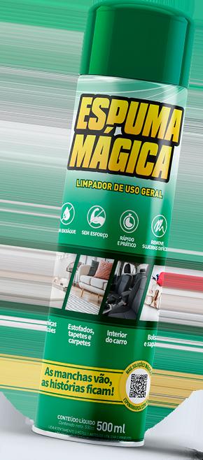 Espuma mágica | Confira